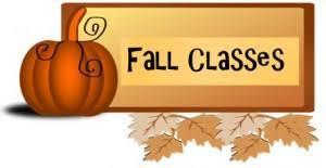 Fall Class Offerings for 2020-21
