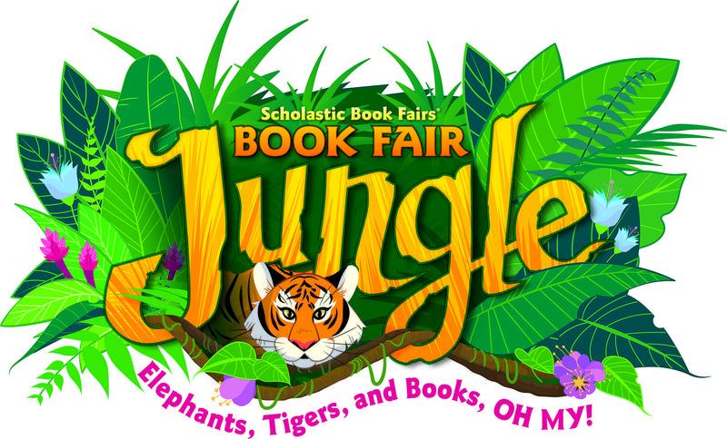 Book fair jungle image with tiger