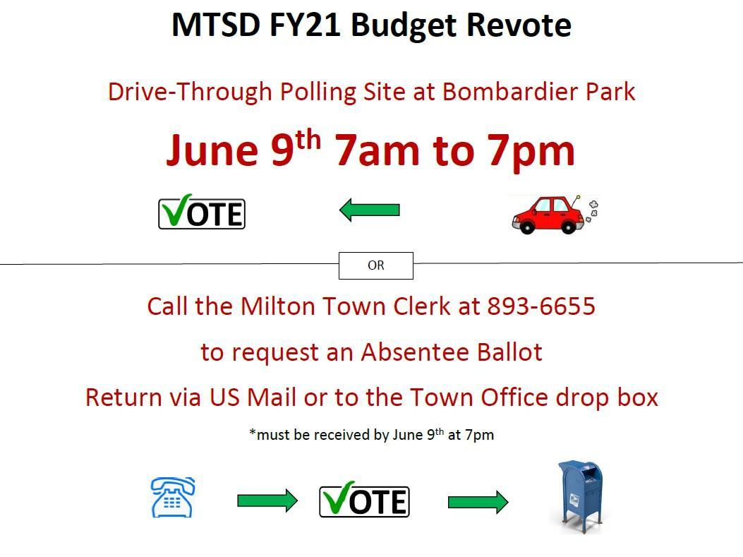 Revote June 9th call 893-6655