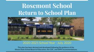 Return To School Plan 7/13/2020