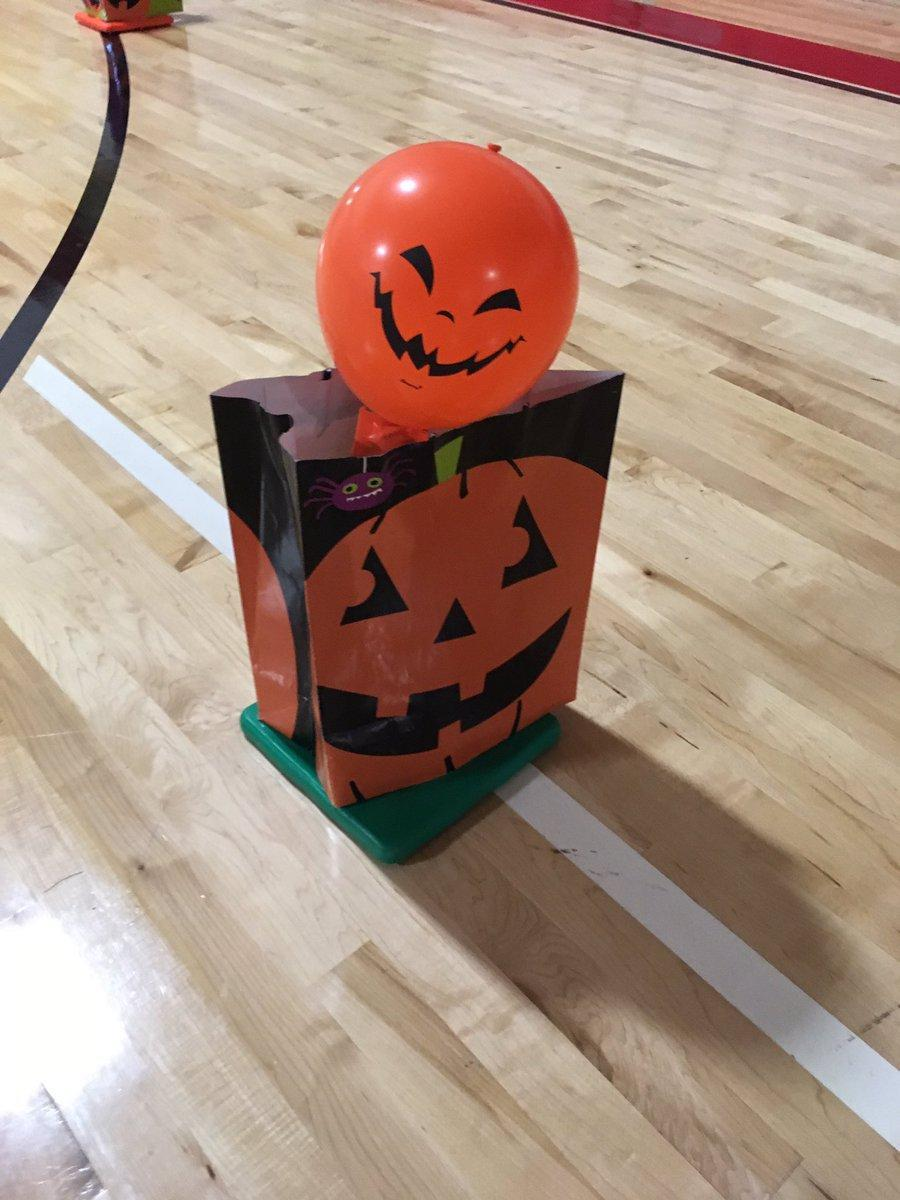 Halloween in the Gym