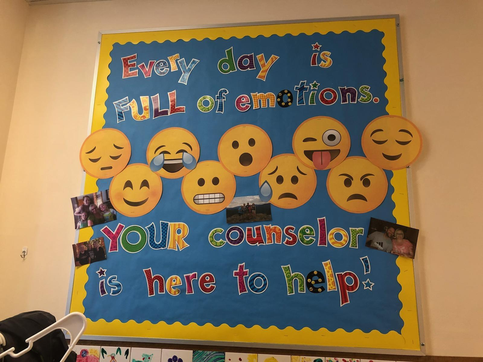 Counselor Bulletin Board 2017-2018