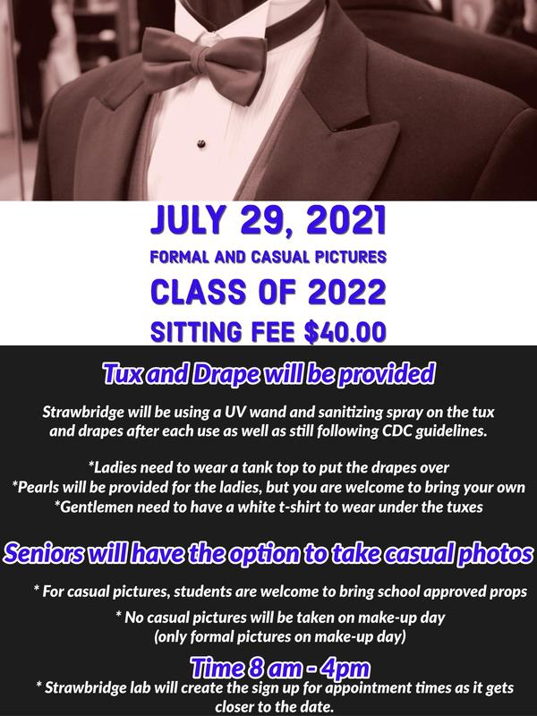 Class of 2022 Formal and Casual Pictures
