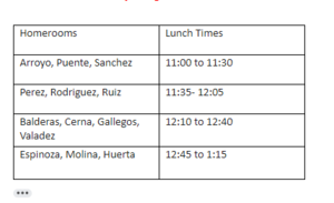 Modified Lunch Schedule.PNG