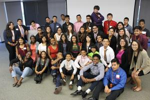 Manor students at Applied Materials