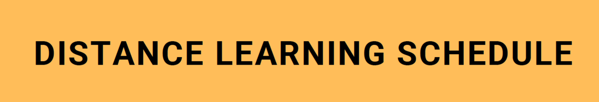 image of distance learning banner