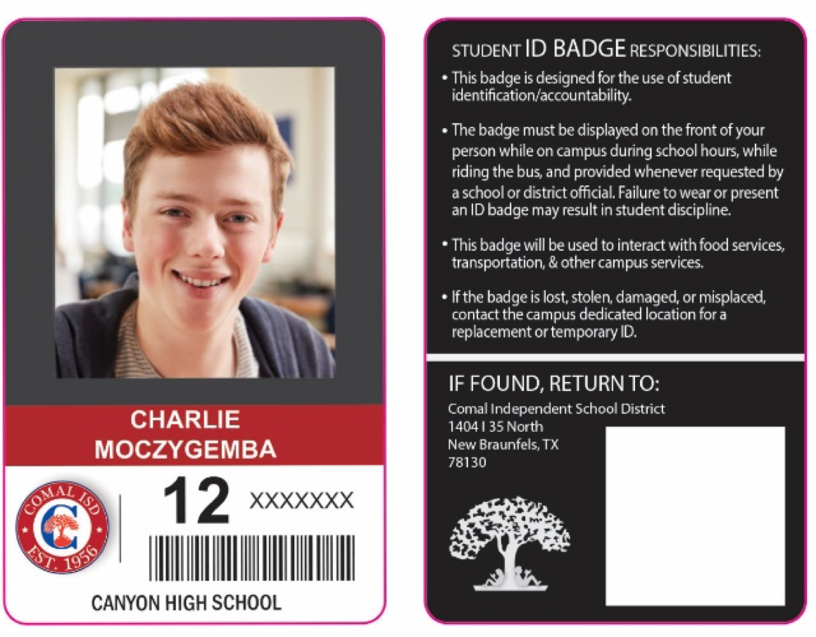 example of student ID