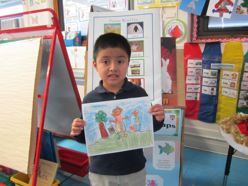 Enrique H. Winner of the Scholastic book club