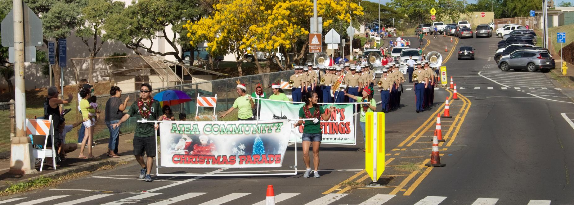 Aiea Community Christmas Parade