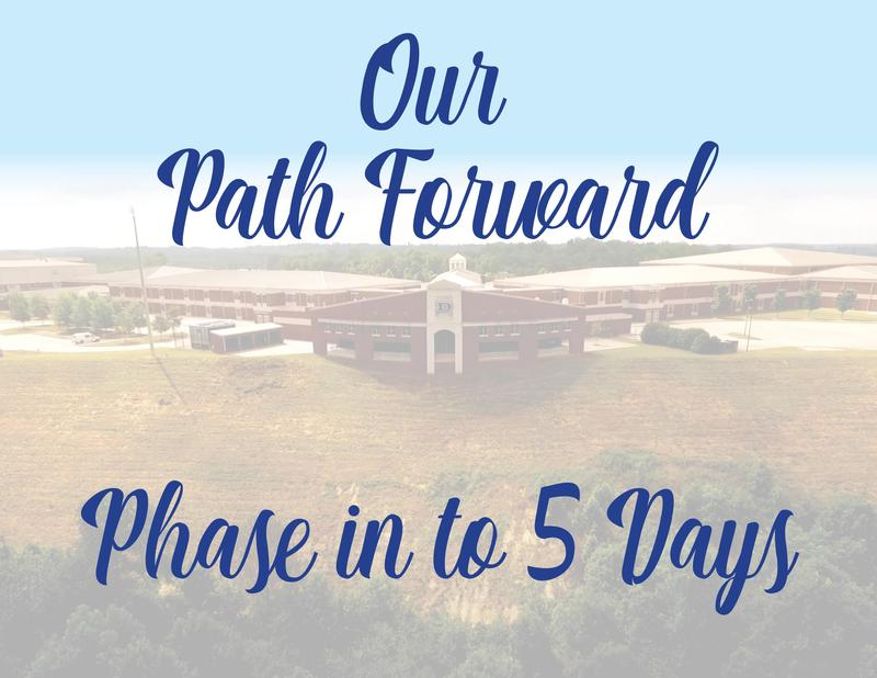 Our Path Forward - Phase in to 5 Days