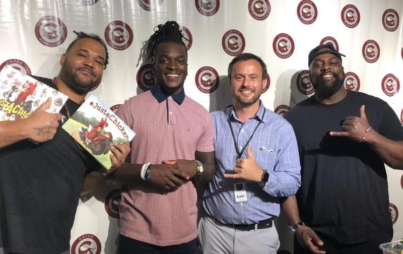 Gamecocks promote reading at Cayce Elementary