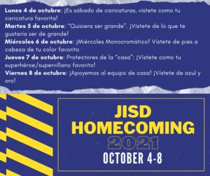 homecoming Spanish