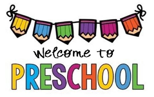 Welcome to PRESCHOOL!