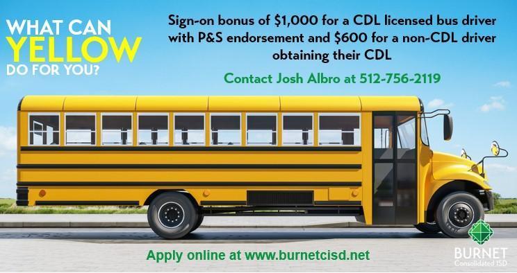 Bus Driver Sign-On Bonus Thumbnail Image