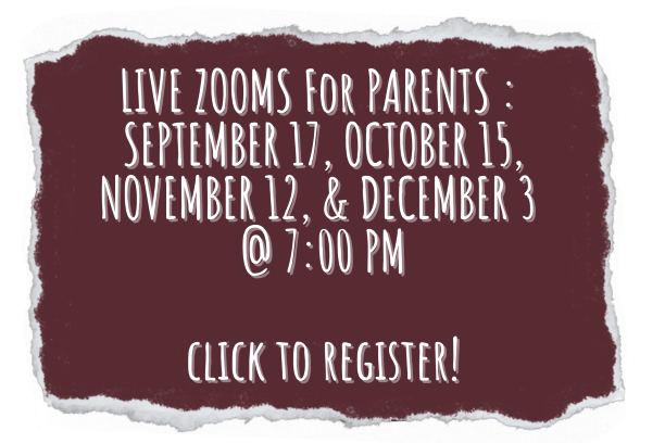 Parent Zoom session registration