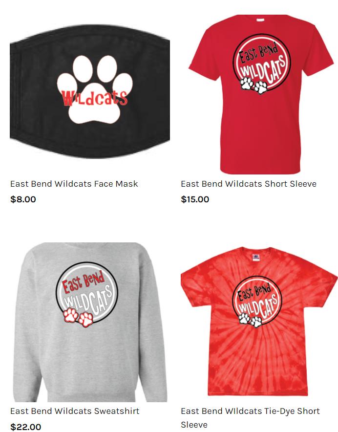 East Bend Spirit Wear Image