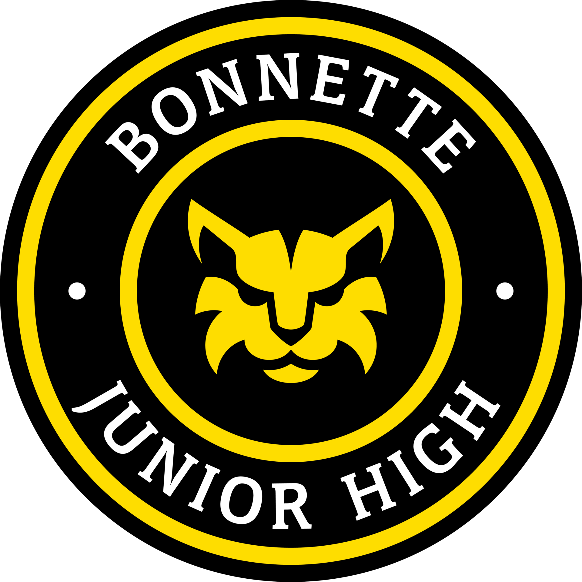 Bonnette Junior High school seal