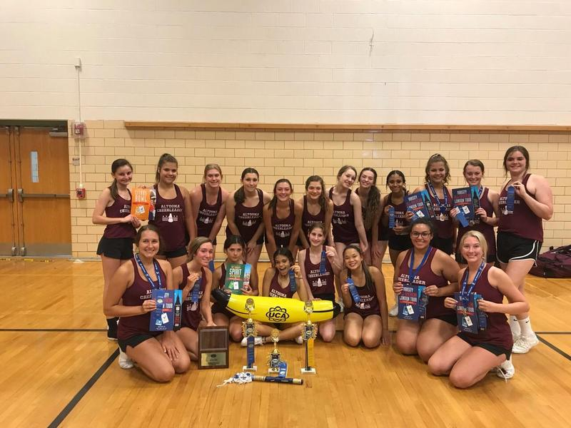 AAHS Cheerleaders attend UCA Cheer Camp Thumbnail Image