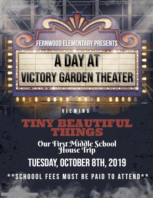 Middle School Victory Garden Theater Trip Thumbnail Image