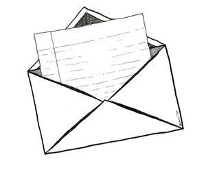 Open Envelope/letter