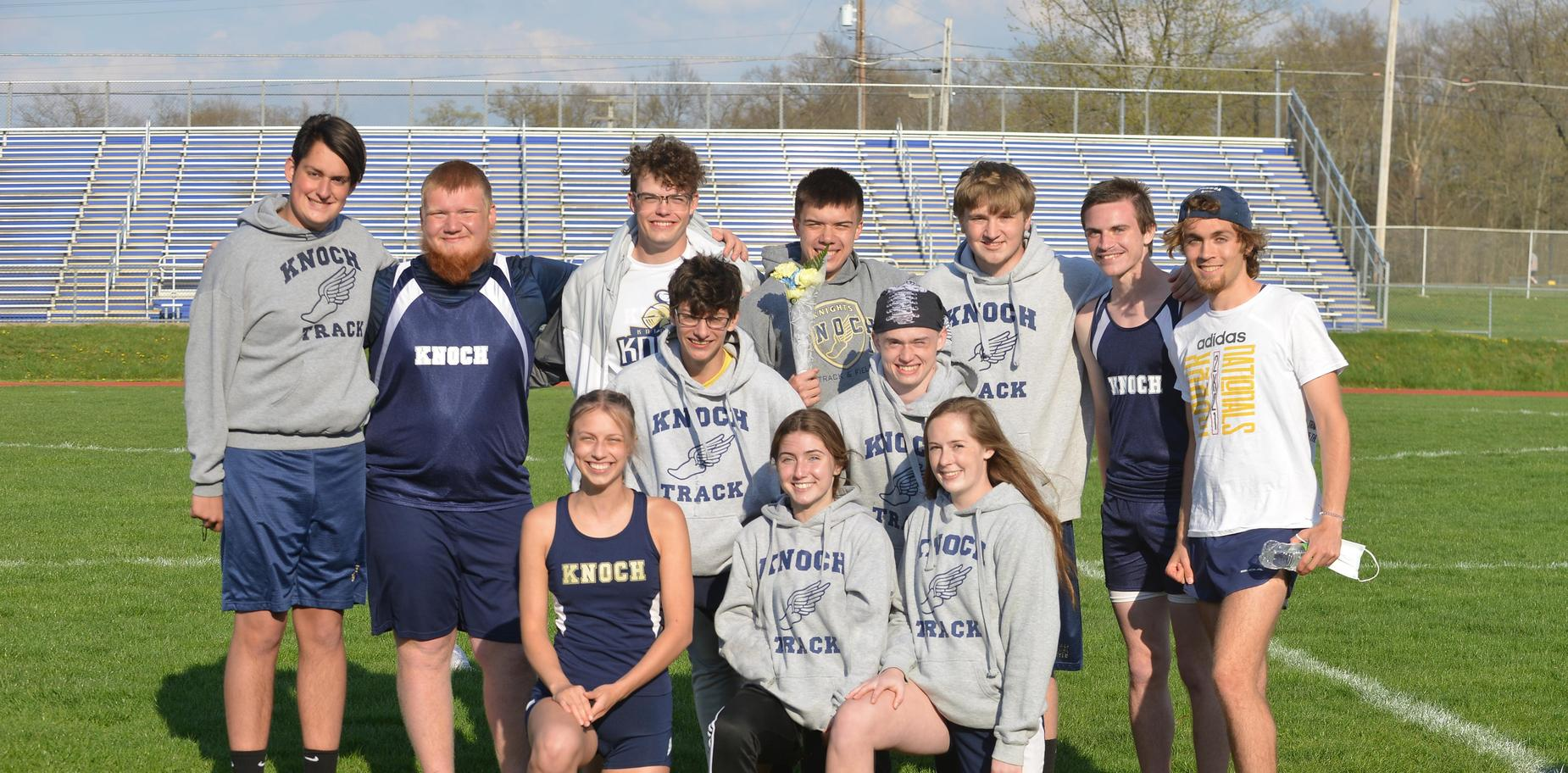 track and field seniors