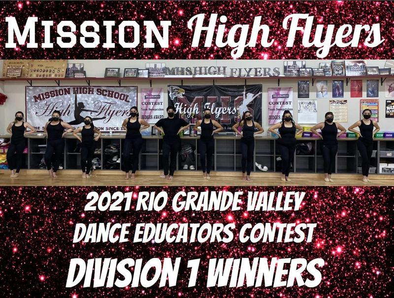 2021 Rio Grande Valley Dance Education Contest Division 1 Winners Featured Photo