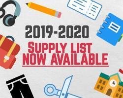2019-2020 Supply List Featured Photo