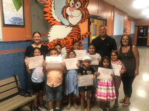 Kindergarten Students who completed the summer program