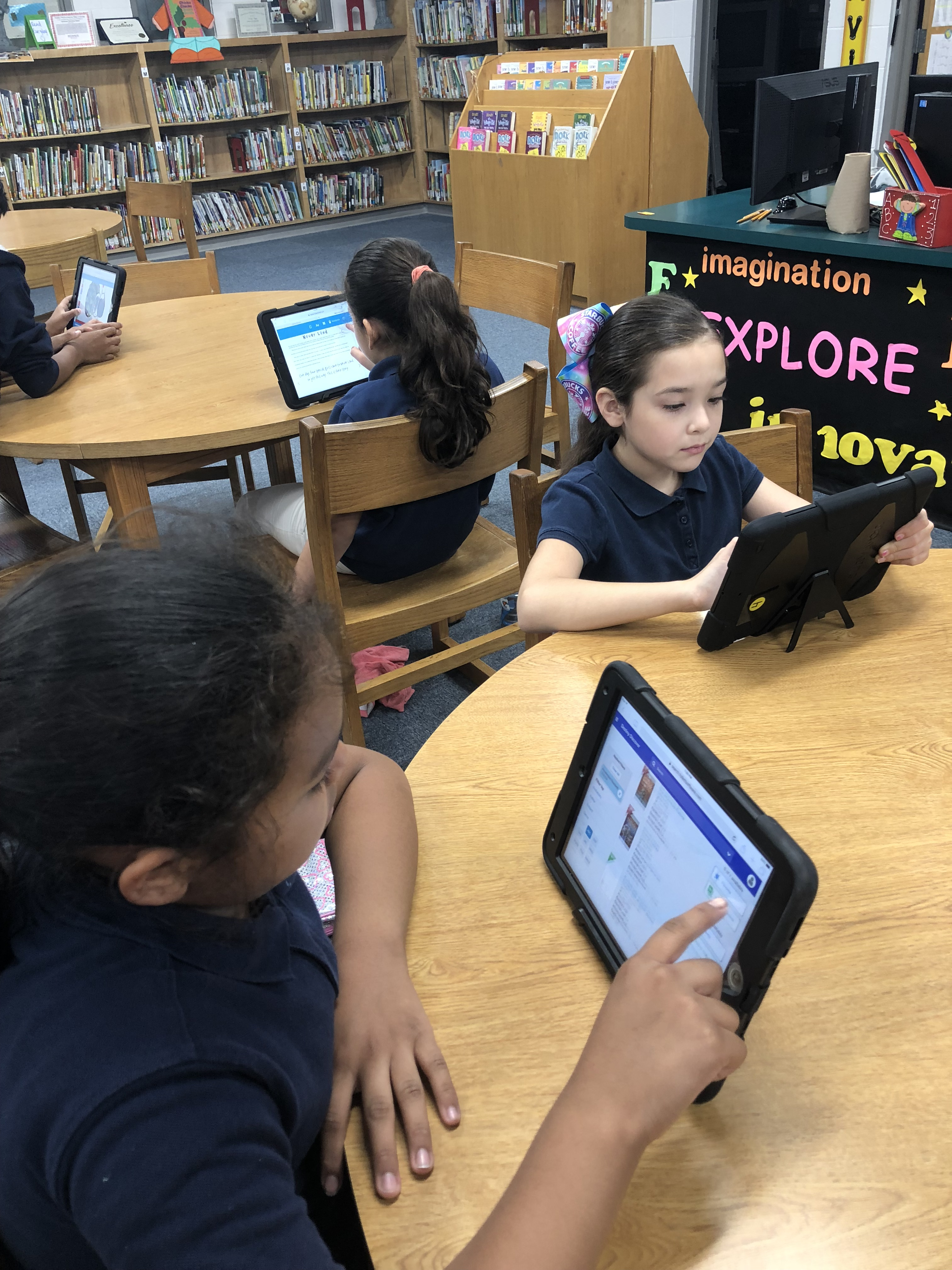 Library Resources/IPads