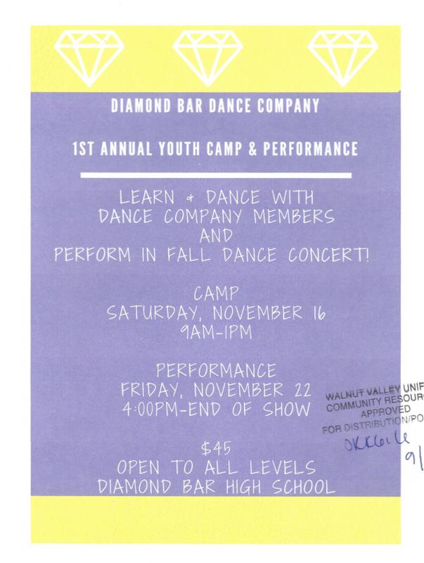 DBHS Dance Camp! Featured Photo