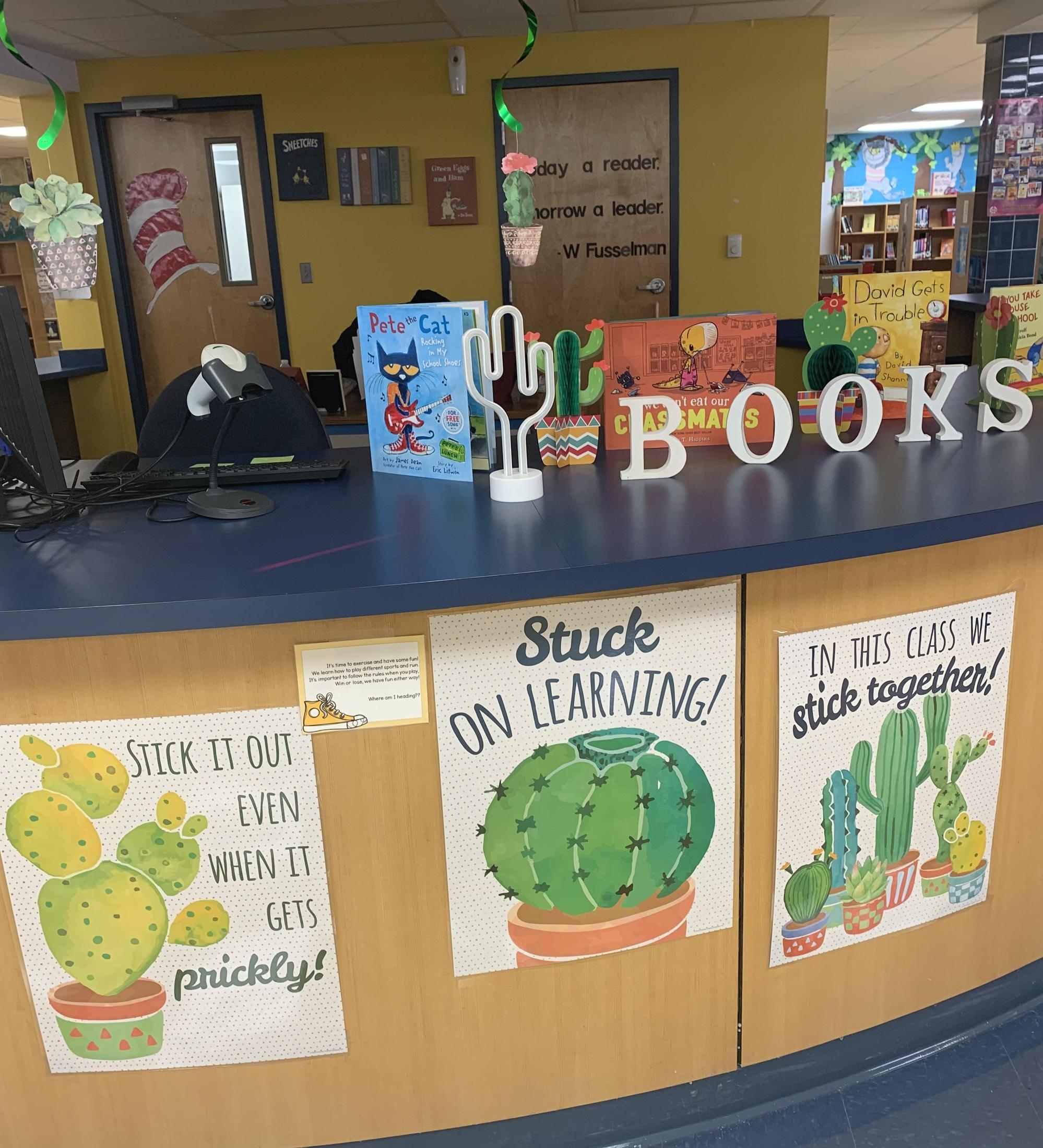 library decor