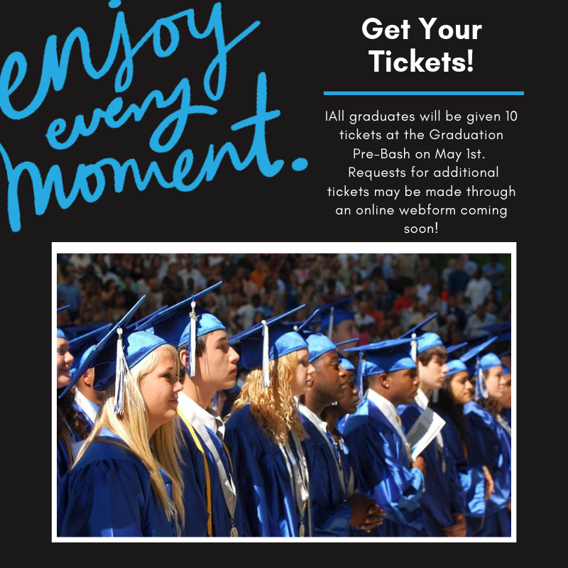 Pick up your tickets on May 1