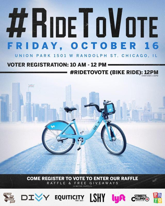 Ride To Vote Campaign