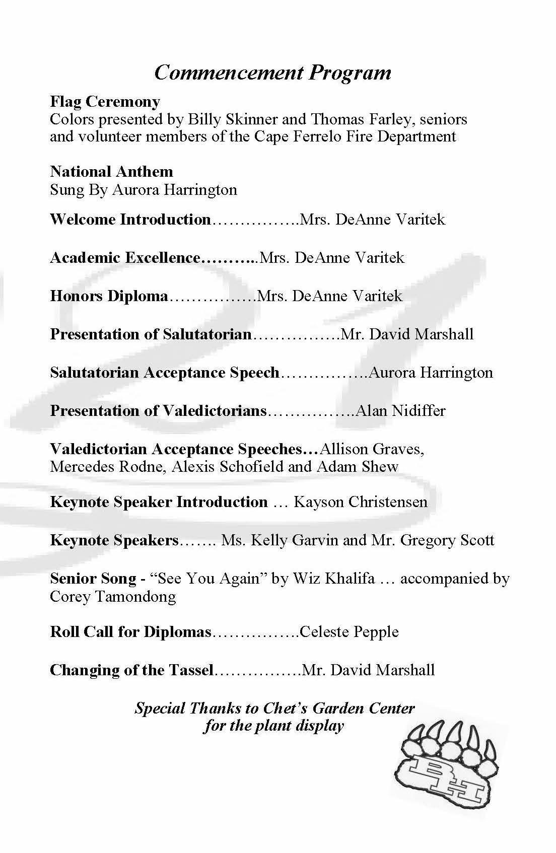 BHHS Grad Program Page 3