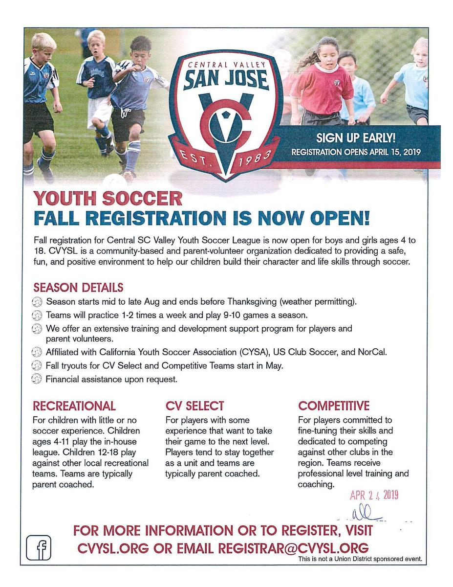 18-19 Community Program and Camps – Community Program and Camps