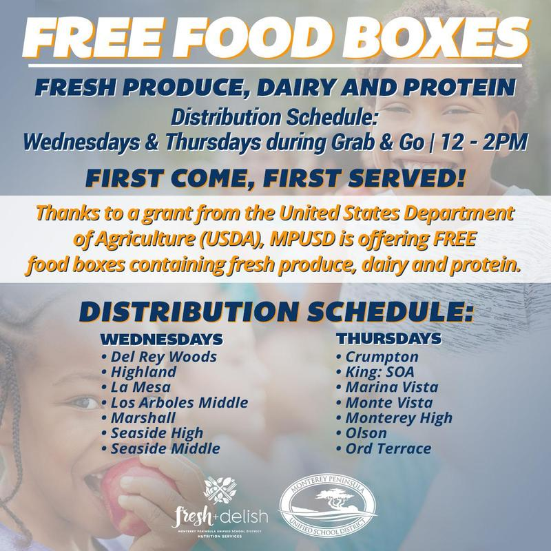 Free Food for Families Featured Photo