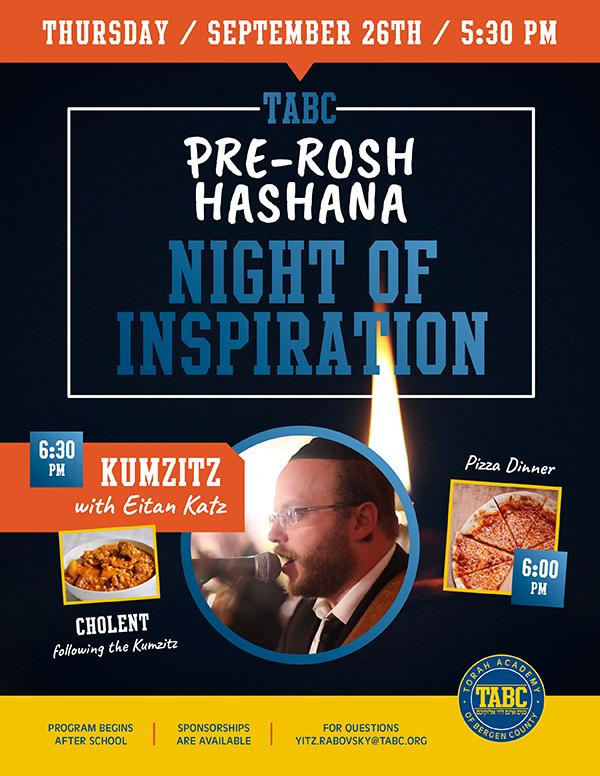 Pre-Rosh Hashanah Night of Inspiration Thumbnail Image