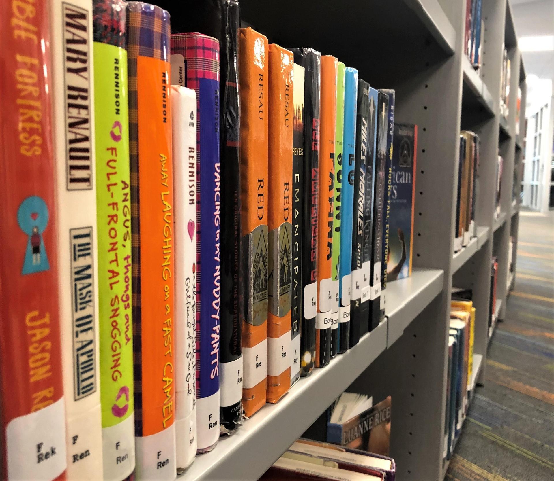 Close-up of Bookshelf