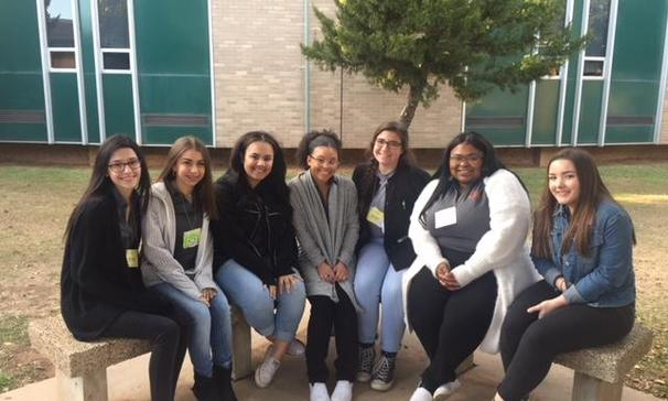 Student Council members attend LASC State Convention.