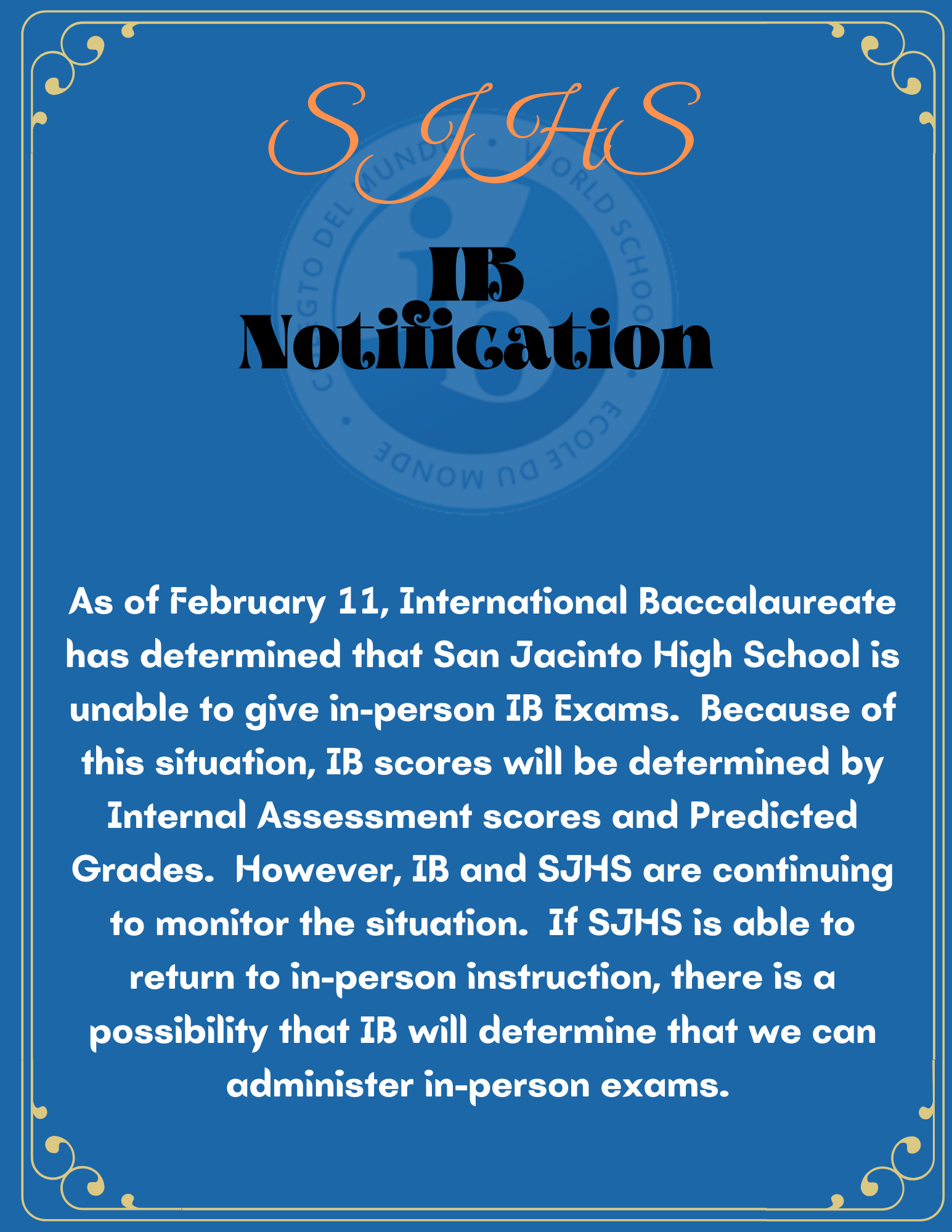 IB Notification