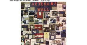 GHS Veteran's Wall