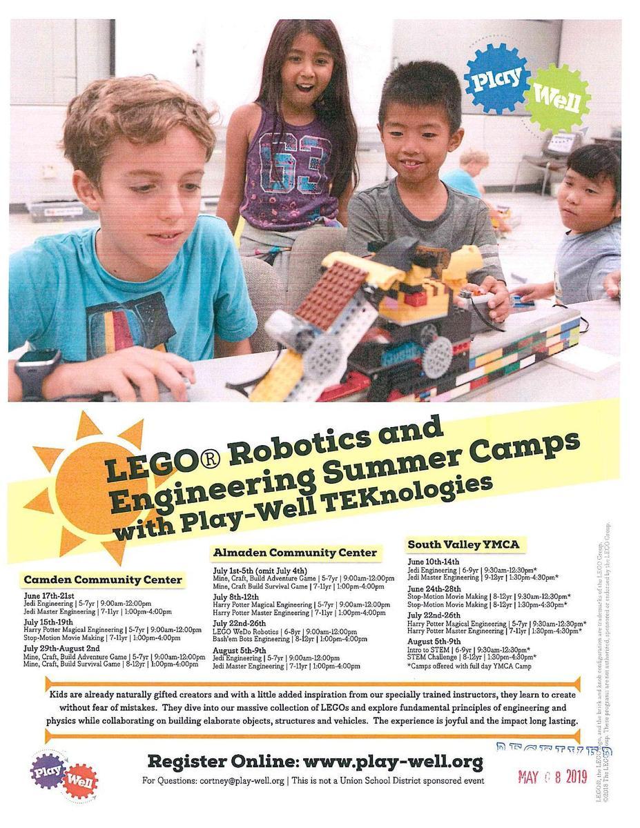 Lego Robotics Summer Camp