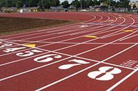 track stock image
