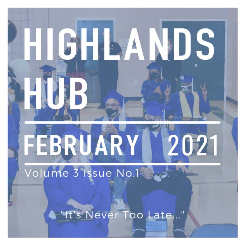 Highlands Hub February 2021 Volume 3 Issue No. 1