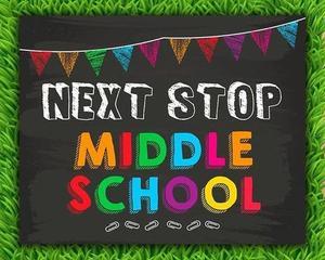 next stop middle school