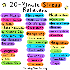 20- Minute Relievers