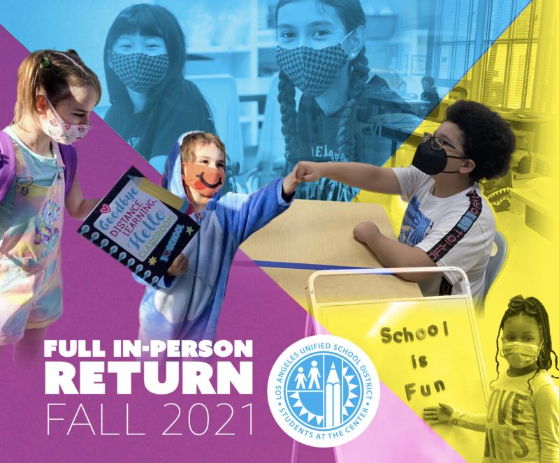 Delevan Drive Town Hall Webinar: Full In-Person Return Fall 2021 Thumbnail Image