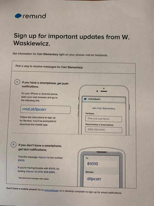Remind 101 sign up Thumbnail Image