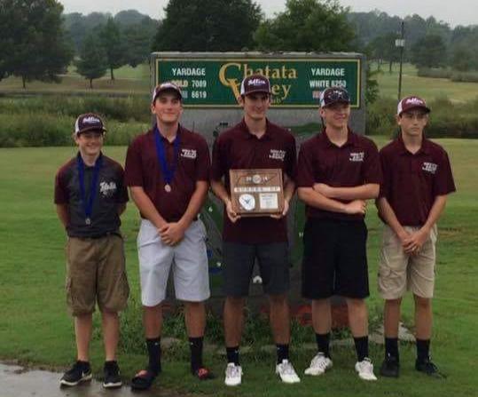 2018 District Golf Team