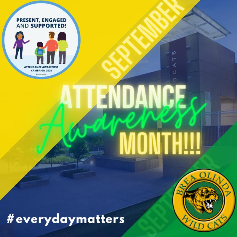 BOHS Attendance Awareness Month image
